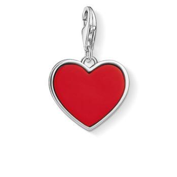 Thomas Sabo - Charm rött hjärta | 1471-337-10
