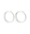 Circle Earrings Small - Circle Earrings Small Steel