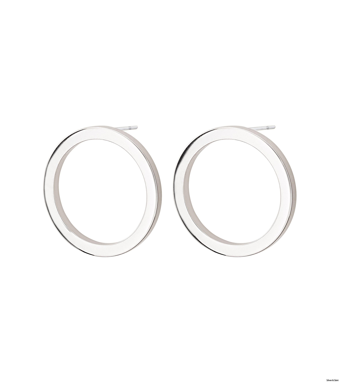 Edblad-Circle-Earrings-Small-Steel-PI