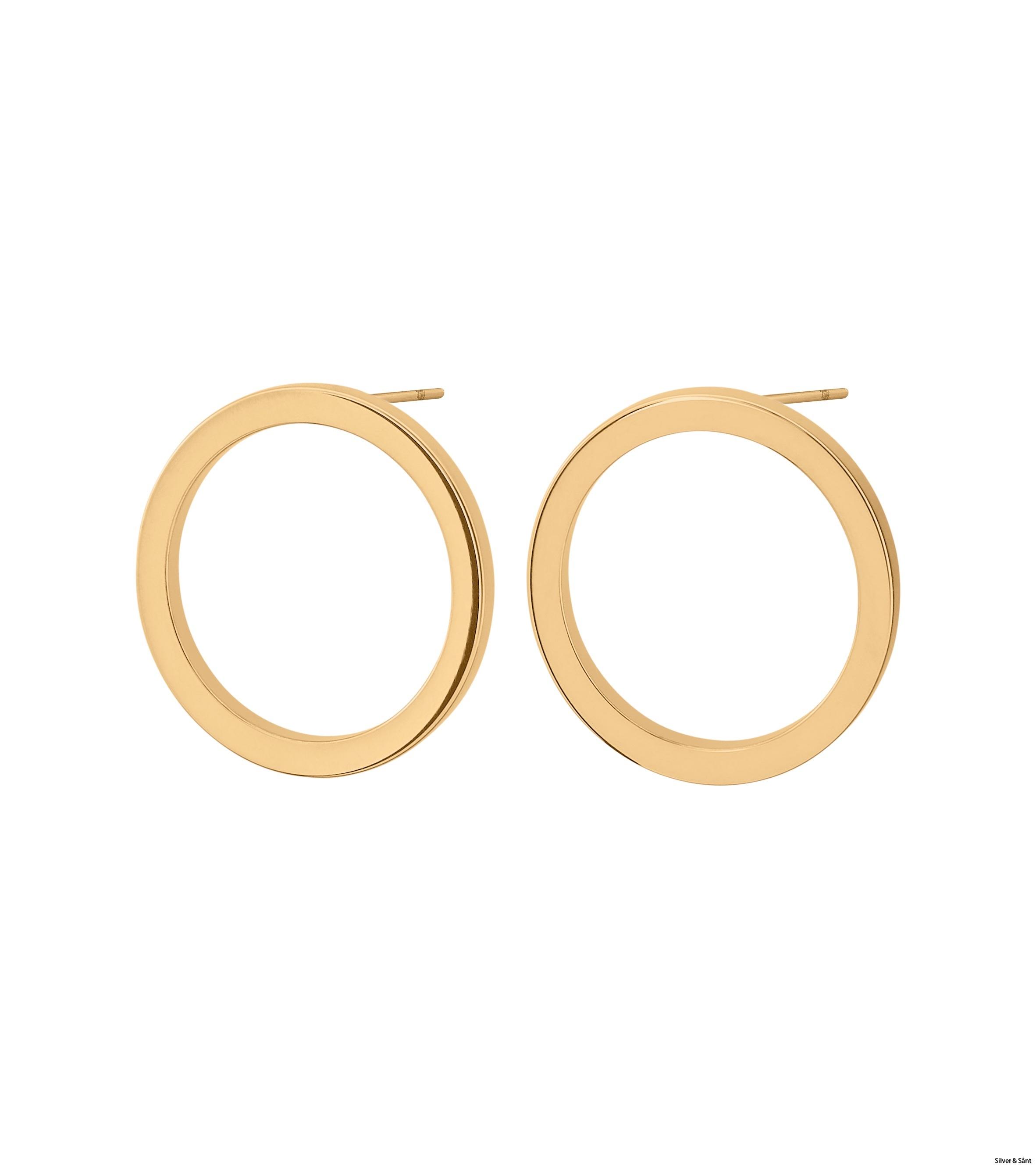 Edblad-Circle-Earrings-Small-Gold-PI