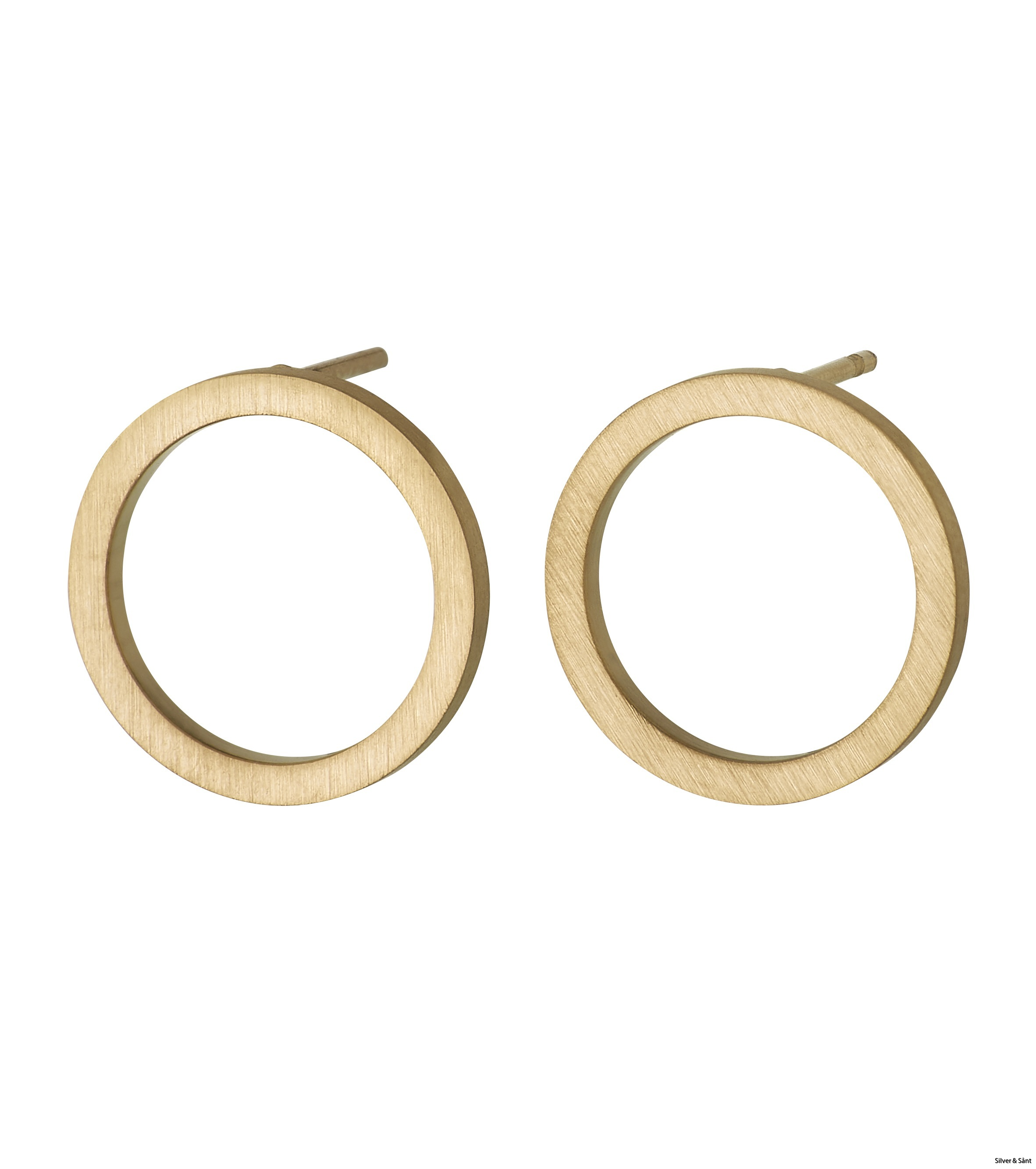 Edblad-Circle-Earrings-Small-Matt-Gold-PI