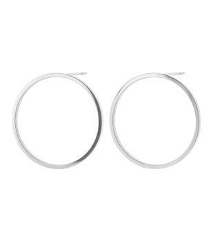 Circle Earrings Steel -