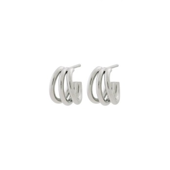 Edblad -  Echo Earrings Small Steel - Edblad -  Echo Earrings Small Steel