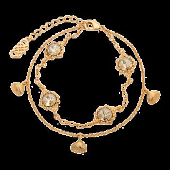 BONNIE BRACELET – CRYSTAL (GOLD) - BONNIE BRACELET – CRYSTAL (GOLD)
