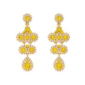 Lily and Rose - MISS KATE EARRINGS - SUNSHINE (GOLD) - MISS KATE EARRINGS - SUNSHINE (GOLD)