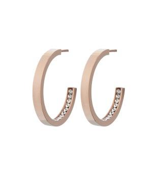 Edblad - Monaco Earrings Small Rose Gold - Edblad - Monaco Earrings Small Rose Gold