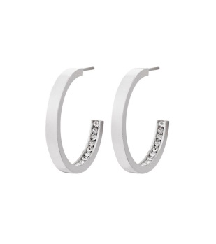 Edblad - Monaco Earrings Small Steel - Edblad - Monaco Earrings Small Steel