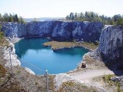 Oaxens azurblåa lagun