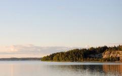Oaxens norra udde en sommarkväll