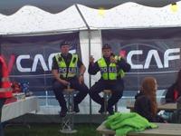 Polisen tar en paus Scholl´sOut 2012