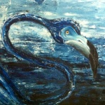 Blue Flamigo