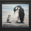 Print Penguins 30x40 - Dad The Penguin Sv