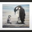 Print Penguins 30x40 - Dad The Penguin Vit