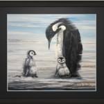 Print Penguins 30x40