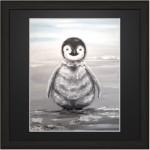 Print Penguins 30x30