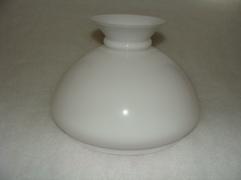 Vestaskärm i vitt opalinglas