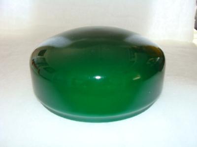Strindbergsskärm Välvd grön - Strindbergsskärm. Bottendiameter: 200 mm.