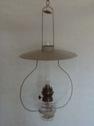 Takfotogenlampa Lyckeby - Takfotogenlampa Lyckeby. Pärlgrå. Höjd 65 cm, med kätting ( 0,5 m) total höjd 115 cm.