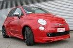 Röda - Fiat 500 Pvc