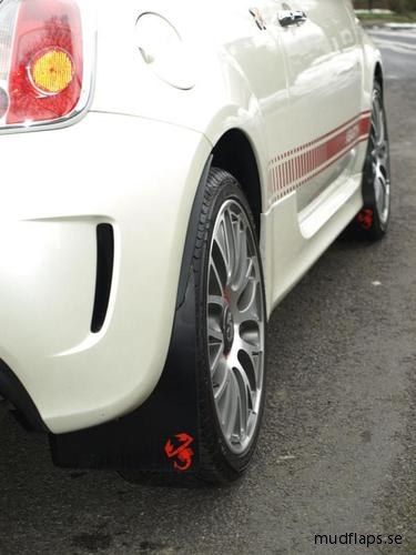 Fiat 500 Abarth stänkskydd