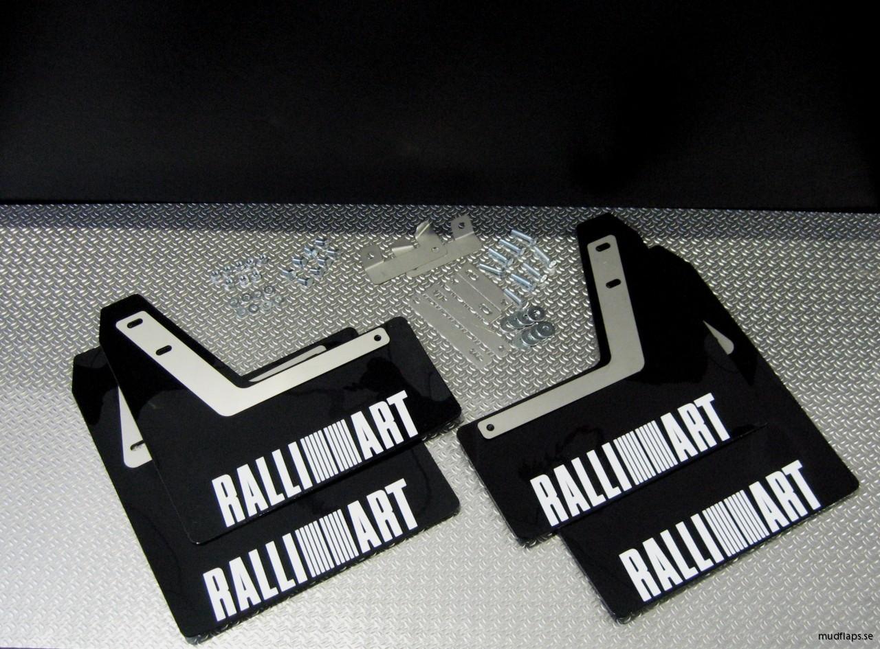 Ralliart stänklappar Evo 8
