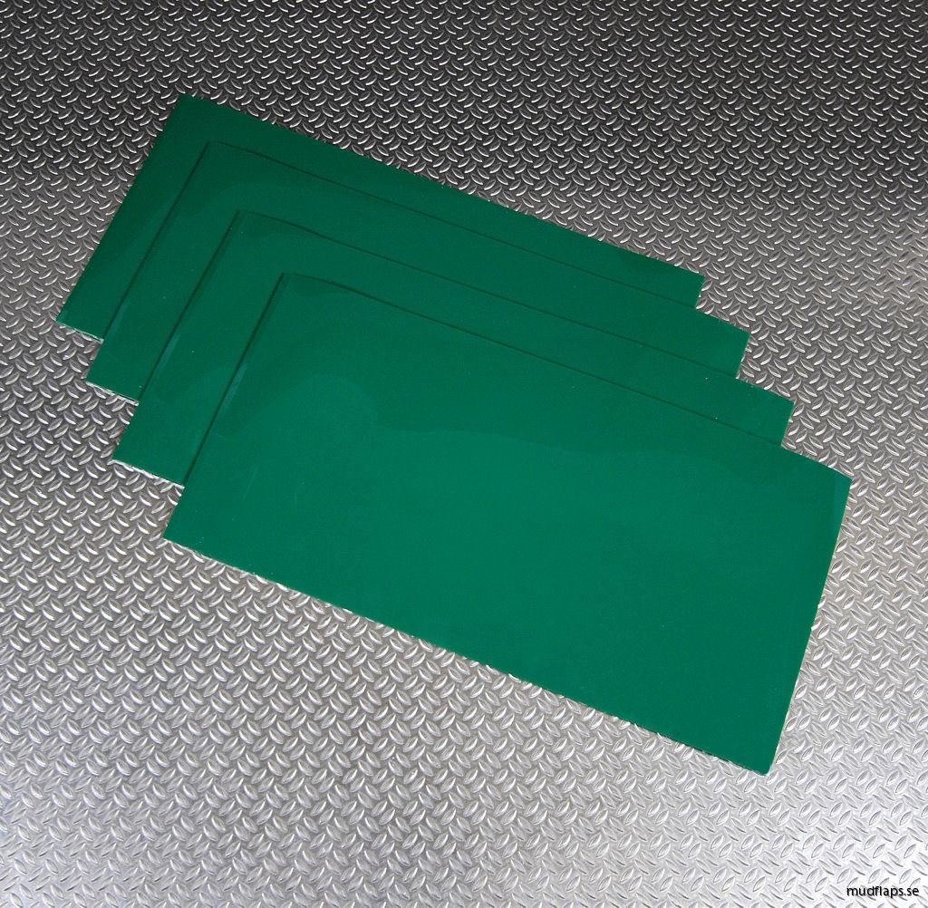 Universal stänklappar grön