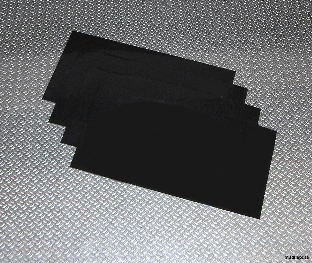 Svarta Universal stänklappar