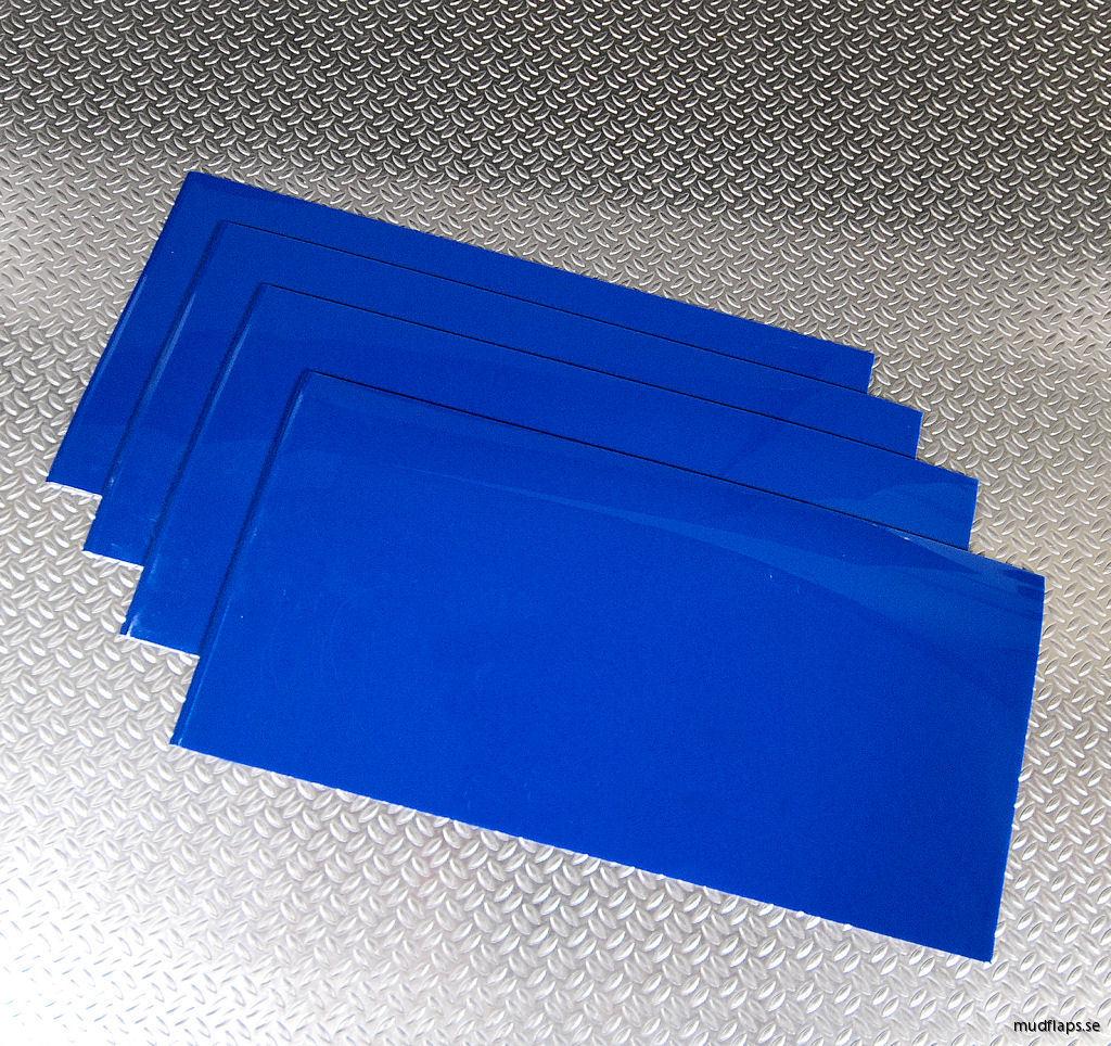 Blå Universal stänklappar