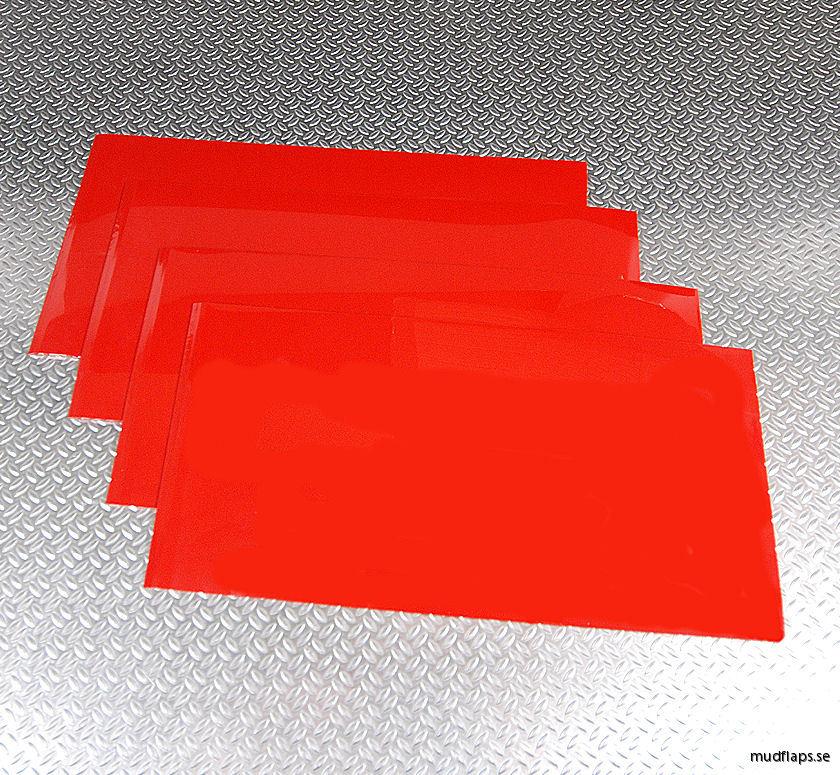 Universal stänkskydd Röd