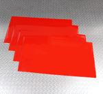240cmx40cm - Röd Pvc