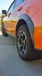 Svarta - Subaru Xv 2013-17 Stänklappar