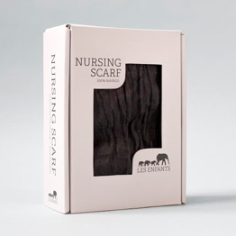 Nursing Scarf Black -