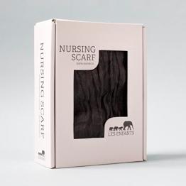 Nursing Scarf Black -