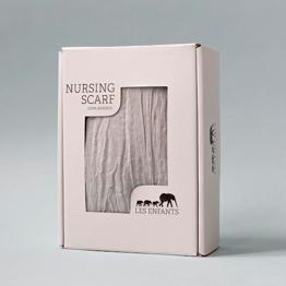 Nursing Scarf Grey - Nursing Scarf Grey