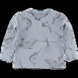 Tröja Blå Delfin