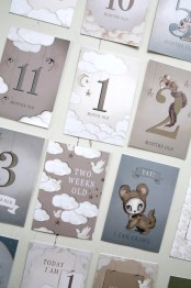 Milestone cards Mrs Mighetto -