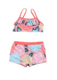 Blommig Bikini - 98/104