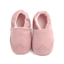 Moccasin Rosa - 6-12 m