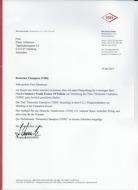 confirmation german champion Lisi