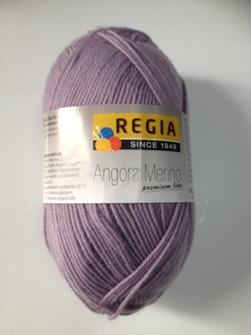 ANGORA MERINO LJUSLILA - Ang mer lila