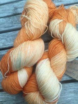 MANDARIN sockgarn - mandarin sock