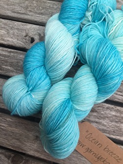OCEAN BREEZE. Sockgarn -