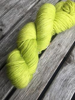 LIME sockgarn - Lime sock