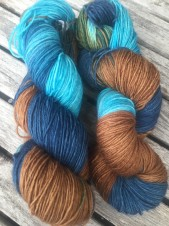 RUSTY BLUE Sockgarn