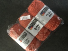 Cotton time 3-pack orange