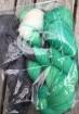 GARNLYCKAS 17dagarssjal - 17dagarssjal grön/svart/vit