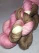 GARNLYCKAS 17dagarssjal - 17dagarssjal rosa/vit/brun