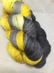 GARNLYCKAS 17dagarssjal - 17dagarssjal gul/vit/grå