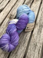 LILLY BLUE  silkeblandning