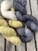 GARNLYCKAS 17dagarssjal - 17dagarssjal gul kiwi/vit/svart